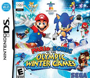 Mario Sonic at the Olympic Winter Games Nintendo DS, 2009