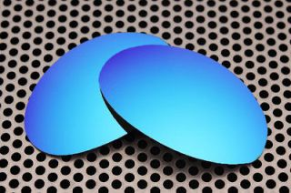 New VL Polarized Ice Blue Replacement Lenses for Oakley Romeo 1.0 one