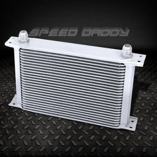 25 ROW 10AN FULL ALUMINUM ENGINE/TRANSMISSION/DIFFERENTIAL OIL COOLER