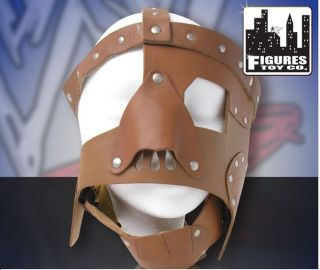 WWE Official Mankind Actual Size Replica Leather Mask Mick Foley