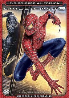 Spider Man 3 DVD, 2007, 2 Disc Set, Special Edition