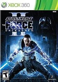 Star Wars The Force Unleashed II Xbox 360 Game Complete