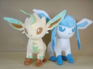 LEAFEON & GLACEON 9 (23CM) NEW POKEMON PLUSH TOY