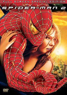 Spider Man 2 DVD, 2004, 2 Disc Set, Special Edition, Fullscreen