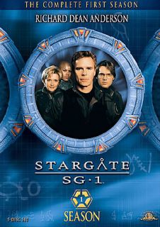Stargate SG 1   Season 1 Gift Set DVD, 2009, 5 Disc Set, Repackaged