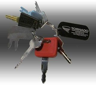 Keys Heavy Equipment / Construction Ignition Key Set