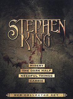 Stephen King DVD Collector Set DVD, 2003, 4 Disc Set