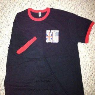 CREW T SHIRT JOURNEY/ DEF LEPPARD RINGER T. TOUR 2006 RARE SIZE XL