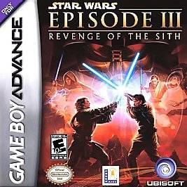Star Wars Episode III Revenge of the Sith Nintendo Game Boy Advance