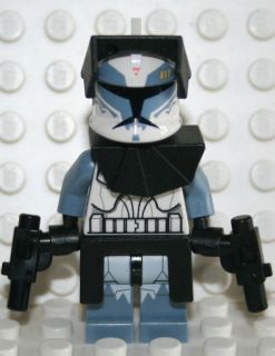 STAR WARS LEGO MINI FIGURE 7964 WOLFPACK CLONE COMMANDER WOLFFE