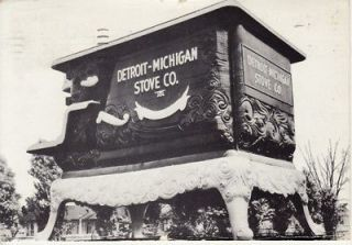 ADVERTISING Detroit, MI STOVE CO    LARGEST STOVE in WORLD