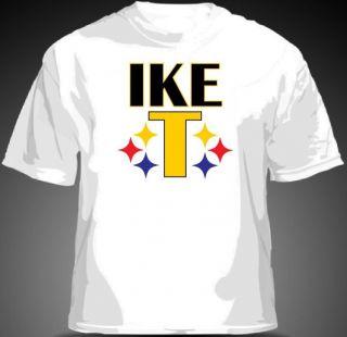 Ike Taylor IKE T Shirt Pittsburgh Steelers Polamalu MENS & YOUTH SIZES