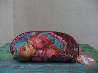 Pip Studio pencilcase etui make up bag roses gold