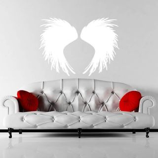 Feathered Angel Wings Wall Stickers / Wall Decals