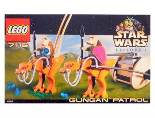 Lego Star Wars Episode I Gungan Patrol 7115