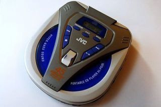 JVC XL PG35 Portable CD Player Walkman 45 sec. anti shick (FAST