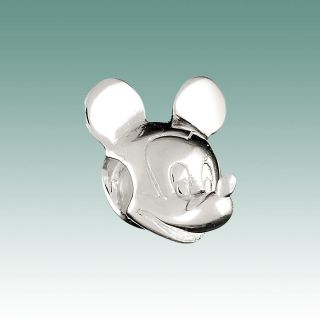 Authentic Chamilia Sterling Silver Licensed Disney Bead Mickey Mouse