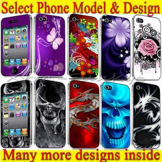 HIGH QUALITY VINYL SKIN STICKER COVER FOR APPLE iPAD 2 iPHONE 3 & 4