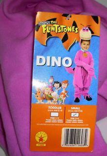 Dino Dinosaur The Flintstones Costume Child 2 4 #11608