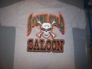 STONE COLD STEVE AUSTIN SALOON GRAY WWF WWE WRESTLING VINTAGE T
