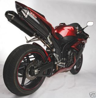 07 08 R1 KR Tuned Carbon Fiber (Half) / Slip On Exhaust 2007 2008