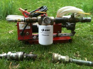 Waste veggie oil WVO 12 volt transfer gear pump