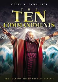 The Ten Commandments DVD, 2011, 2 Disc Set
