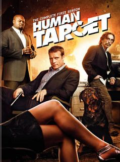 Human Target The Complete First Season DVD, 2010, 3 Disc Set