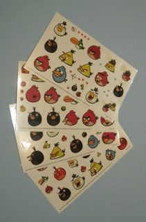 angry birds temporary tattoo for children birthday party activity 8