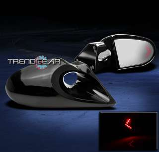 1994 2001 ACURA INTEGRA 2D G2 M3 MANUAL MIRRORS RED LED ARROW TURN