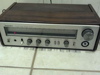 TECHNICS SA 101 VINTAGE OLD SCHOOL RADIO STEREO RECEIVER   WORKS