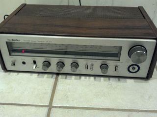 TECHNICS SA 101 VINTAGE OLD SCHOOL RADIO STEREO RECEIVER   WORKS