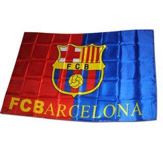 New Barcelona Football Club FCB Logo Soccer Flag Banner 36X60