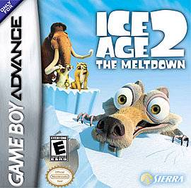 Ice Age 2 The Meltdown Nintendo Game Boy Advance, 2006