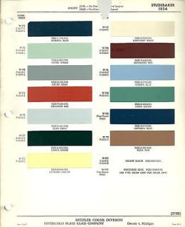 PPG 2004 Import color chip paint book codes chart BMW Honda Toyota