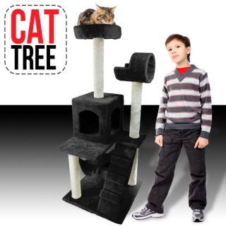 50 Cat Tower Tree Condo Scratcher Furniture Kitten House Hammock Bed