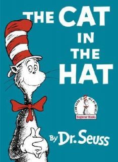 The Cat in the Hat by Dr. Seuss 1966, Hardcover, Large Type