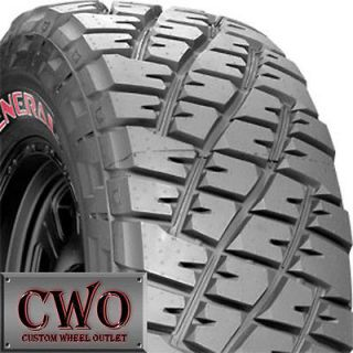 NEW General Grabber Red Letter 33x12.50 17 Tire R17