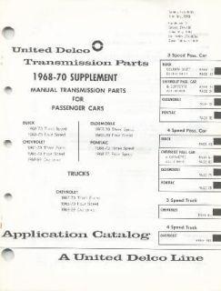68 69 70 GM 3 4 SPEED MUNCIE SAGINAW TRANSMISSION PARTS