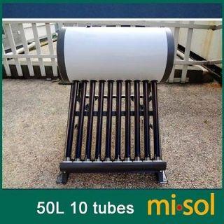 220v 50 Liter solar water heater non pressurized compact vacuum tube
