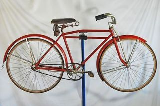 Vintage 1920s Hawthorne Flyer bicycle bike 28 wheels Motorbike wards