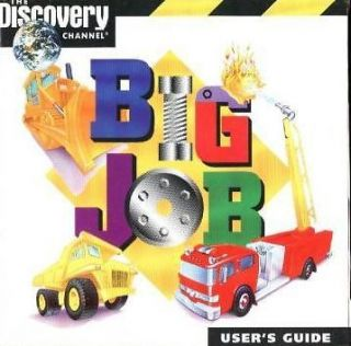 Software BIG JOB Get Behind The Wheel & Build Game Fire Trucks Game