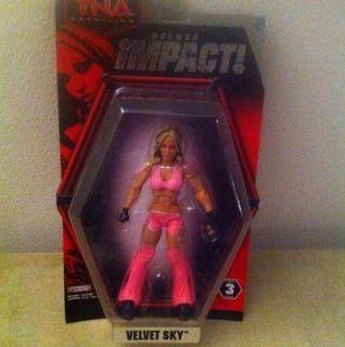 TNA Impact Wrestling Knockout Velvet Sky diva WWE WCW ECW eve elite