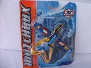 NEW Matchbox Sky Busters Sea Arrow Aircraft Toy Water Plane Island