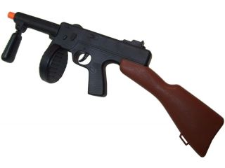NEW Thompson M1A1 Gangster TOMMY GUN 1920s Sub Machine Gun Costume