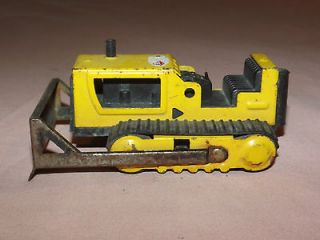 VINTAGE TOY TRUCK 1960 70S TONKA MINI YELLOW BULL DOZER