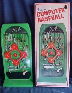 1976 Epoch Deluxe Computer Baseball Pinball Pachinko Bagatelle Game