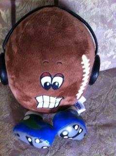 FOOTBALL stuffed iFLOPS share the tunes jay at play headphones plush