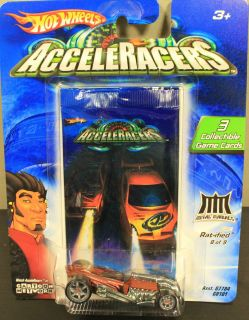 2005 Hot Wheels Acceleracers Metal Maniancs Ratified #8 of 9 FREE