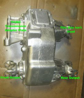 85   91 Chevy Drop Box NP205 Transfer Case TH400 NP 205 Mud Bog 9.5